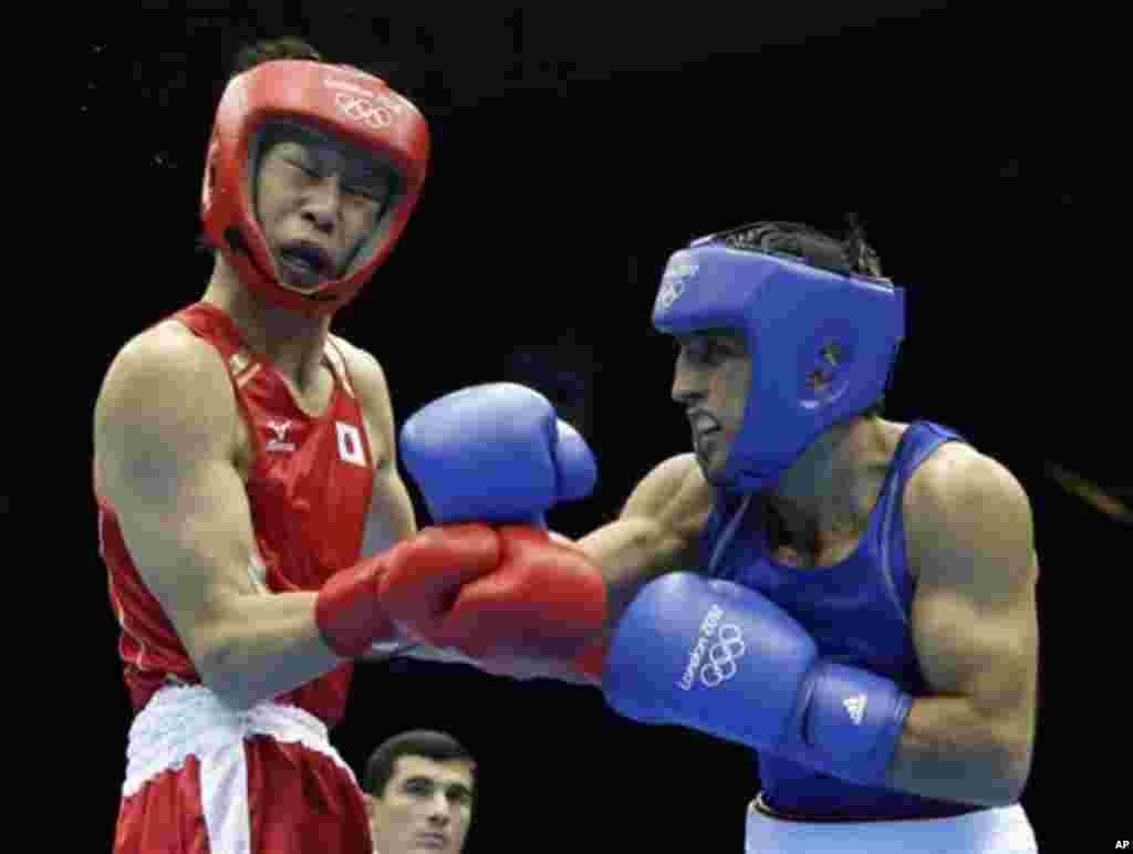 Satoşi Şimizu ilə Maqomed Əbdülhəmidov arasındakı mübahisəli boks yarışı