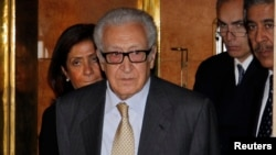 Спецпосланник ООН и ЛАГ Лахдар Брахими (архивное фото)