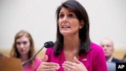 نیکی هیلی، سفیر آمریکا در سازمان ملل متحد
