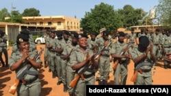 Les soldats américains appuient le Niger dans le cadre du contrôle de ses frontières, à Mainé Soroa dans la région de Diffa, au Niger, le 5 septembre 2016. (VOA/Abdoul-Razak Idrissa)