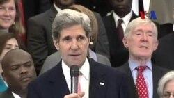 Kerry'den İnsan Hakları Vurgusu