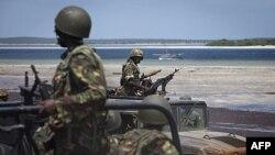 Binh sĩ Kenya chiến đấu chống lại nhóm al-Shabab