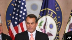 Le député républicain John Boehner sera le président de la Chambre