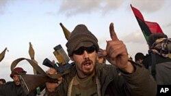 무장한 리비아 반정부 세력
