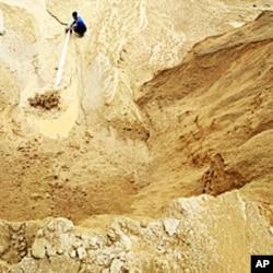 中国江西一个稀土金属矿