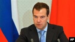 ປະທານາທິບໍດີ Dmitry Medvedev ແຫ່ງຣັດເຊຍ.