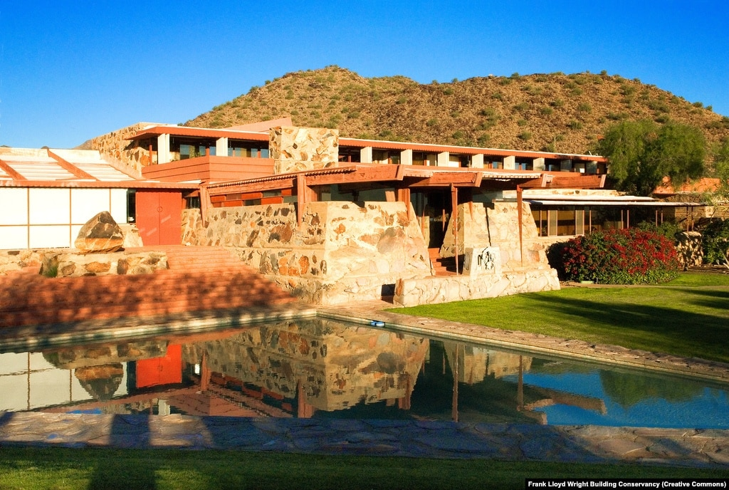 Frank lloyd wright buildings nominated for world heritage list for Building a house in arizona