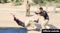 巴基斯坦警方接受反恐訓練