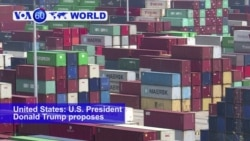 VOA60 World- U.S. President Donald Trump proposes $200 billion in new tariffs on Chinese goods.