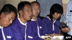 7 người Thái Lan bị bắt giữ hôm 29/12 tại một khu vực biên giới có tranh chấp