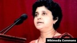 Bà Shirani A Bandaranayake, Bộ trưởng tư pháp của Sri Lanka