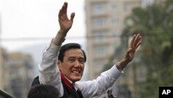 선거유세 중인 마잉주 총통