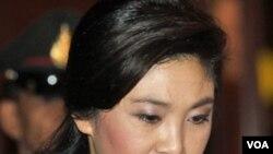 Perdana Menteri Thailand, Yingluck Shinawatra (foto: dok).
