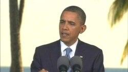 奥巴马总统谈中国