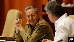 Presiden Kuba, Raul Castro (foto: dok). Pemerintah Kuba keberatan atas status 'negara pendukung terorisme' yang dirilis Deplu AS.