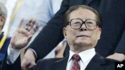 中國執政黨退休的首腦、前國家主席江澤民