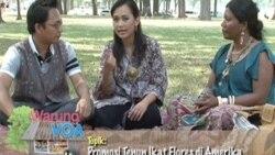 Promosi Tenun Ikat Flores Alfonsa (Bagian 3) - Warung VOA 12 September 2011