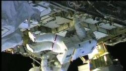 宇航員太空行走解決太空站氨氣泄漏問題