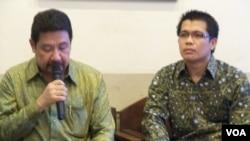 Ketua Setara Institute, Hendardi bersama pengamat politik dari Universitas Islam Negeri Jakarta, Ismail Hasani (Foto: dok).