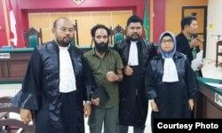 Pembela hukum kecewa dengan putusan sela PN Balikpapan. (Foto: PAHAM Papua)
