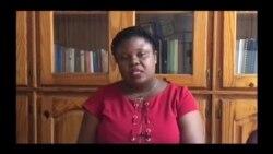 Marie Rosie Auguste Ducena, pòtpawòl Rezo Nasyonal Ayisyen Defans Dwamoun, bay detay sou rapò RNDDH la.