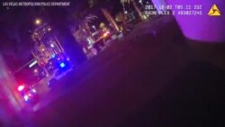 Las Vegas Police Body Cam Video During Mass Shooting