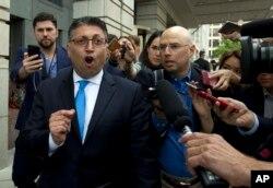 ماکان دلرحیم، رئیس اداره ضد تراست وزارت دادگستری، روز سهشنبه 13 ژوئن، بعد از صدور رای قاضی فدرال