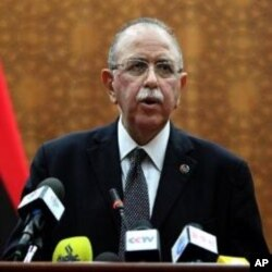 Le Premier ministre Abdel Rahim el-Kib