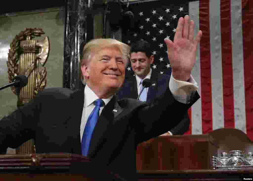 نخستین سخنرانی سالانه پرزیدنت ترامپ در گنگره درباره وضعیت عمومی کشور
