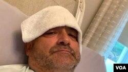 Karlos Gavidija kaže da ima još neke od simptoma koronavirusa – ali se, navodi, bez temperature, ponovo oseća živim: Karlos Gavidija u jeku bolovanja (Foto: Karlos Gavidija)