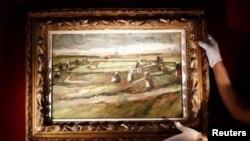 تخمین زده می شود این نقاشی «ون سان ون گوگ» بین ۳ تا ۵ میلیون یورو به فروش رود
