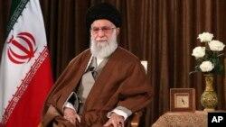 ایران کے سپریم لیڈر خامنہ ای، فائل فوٹو