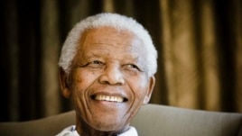 Former South African President Nelson Mandela pictured in 2009.