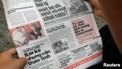 Việt Nam nói cần sửa đổi Luật báo chí hiện hành sau 16 năm áp dụng, nhưng vẫn không cho phép có báo chí tư nhân.