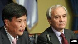Ministar rudarstva i energetike Srbije Petar Škundrić i ambasador Kine u Srbiji Vei Djinghua