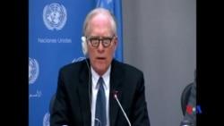 2014-04-16 美國之音視頻新聞: 聯合國安理會審閱有關敘利亞暴行的照片