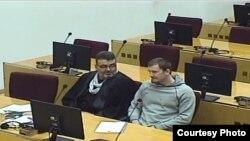 Armen Dželko na suđenju. Izvor: Sud BiH