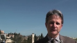 Dan Robinson reports from Jerusalem on Obama Visit