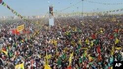 Protesti pristalica Abdulaha Odžalana u Dijabakiru