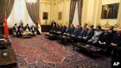 中国国家主席习近平在埃及议会(2016年1月21日)
