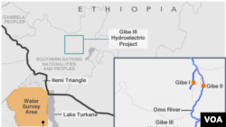 Turkana Lake, Gibe III Hydroelectric Project