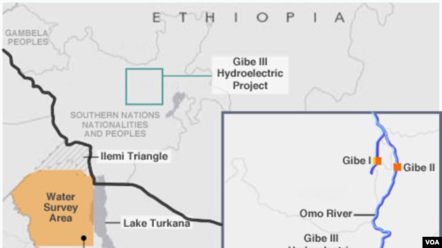 Turkana Lake, Gibe III Hydroelectric Project
