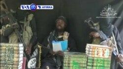 VOA60 AFIRKA: NIGERIA Shugaban Boko Haram, Abubakar Shekau Ya Bayyana a Wani Sabon Bidiyo