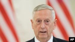وزیر دفاع ایالات متحده گفته است که انتظار خواهد کرد تا دونالد ترمپ، رئیس جمهور امریکا، جزئیات استراتیژی را بر ملا کند