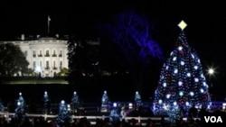 El árbol de Navidad de la Casa Blanca, es uno de los árboles más simbólicos en EE.UU.