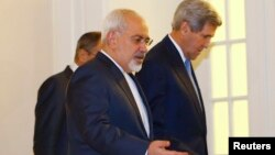 Iranski i američki šefovi diplomatije, Džavad Zarif i Džon Keri