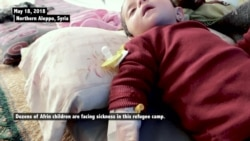 Displaced Afrin Children Threatened by Disease