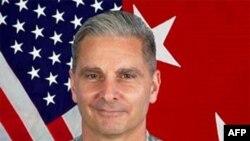 驻伊拉克北部的美军指挥官库克罗少将