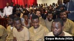 Activistas em tribunal
