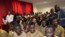 Leitura da sentença dos 17 activistas angolanos na próxima segunda-feira - 2:00